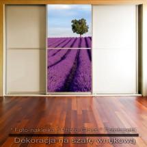 Samotnik- dekoracja na szafę