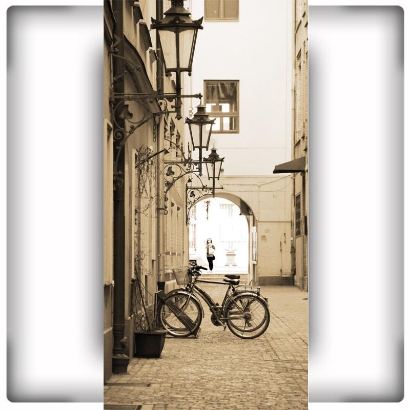 Fototapeta na ścianę uliczka