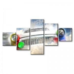 Trabant w chmurach - obraz z wielu części nr 2916