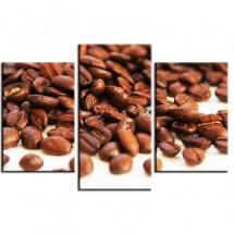 Tryptyk ziarna kawy