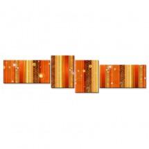 Ozdoba ściany w formie obrazu abstrakcja - nowoczesny