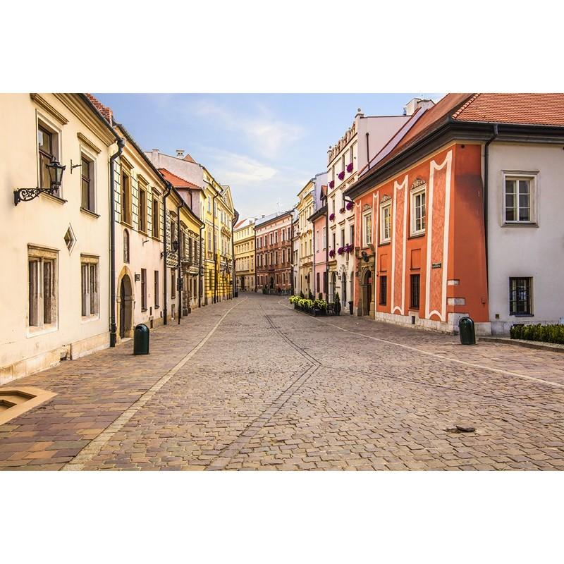 Fototapeta uliczka w Krakowie