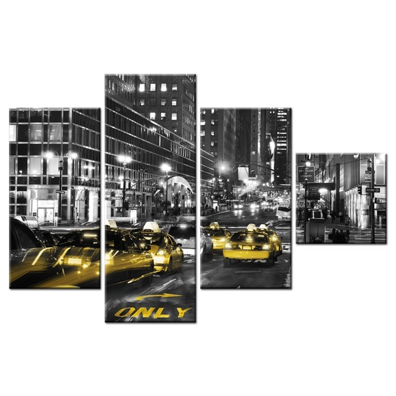Ozdoba ściany w formie obrazu New York
