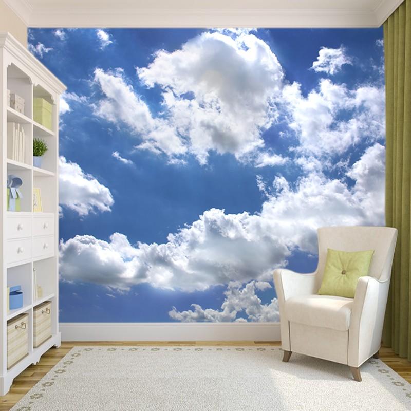 Fototapeta Chmury Na Blekitnym Niebie