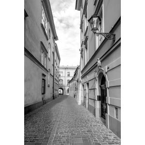 Fototapeta Uliczka BW