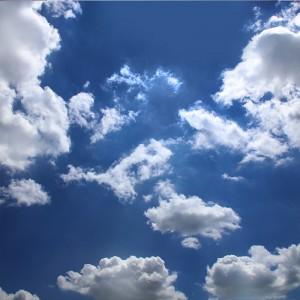 Fototapeta chmury