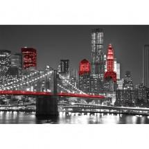 Fototapeta Noc w Nowym Jorku