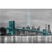 Fototapeta turkusowy most