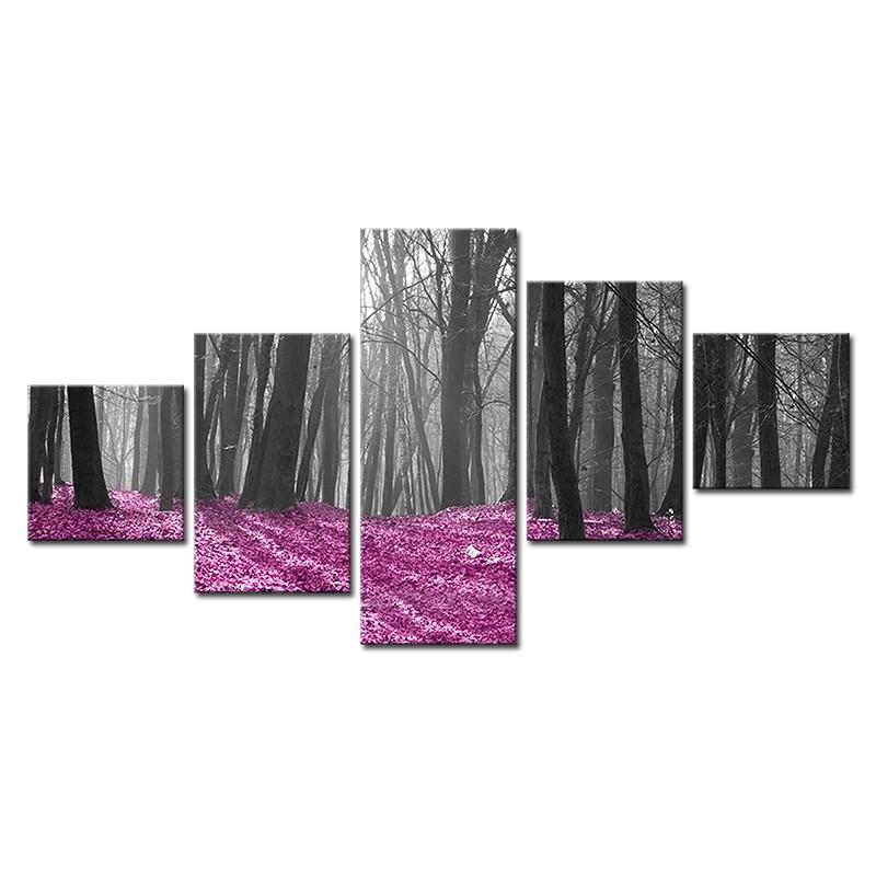 Obraz z kilku części - wieloczęściowy drzewa