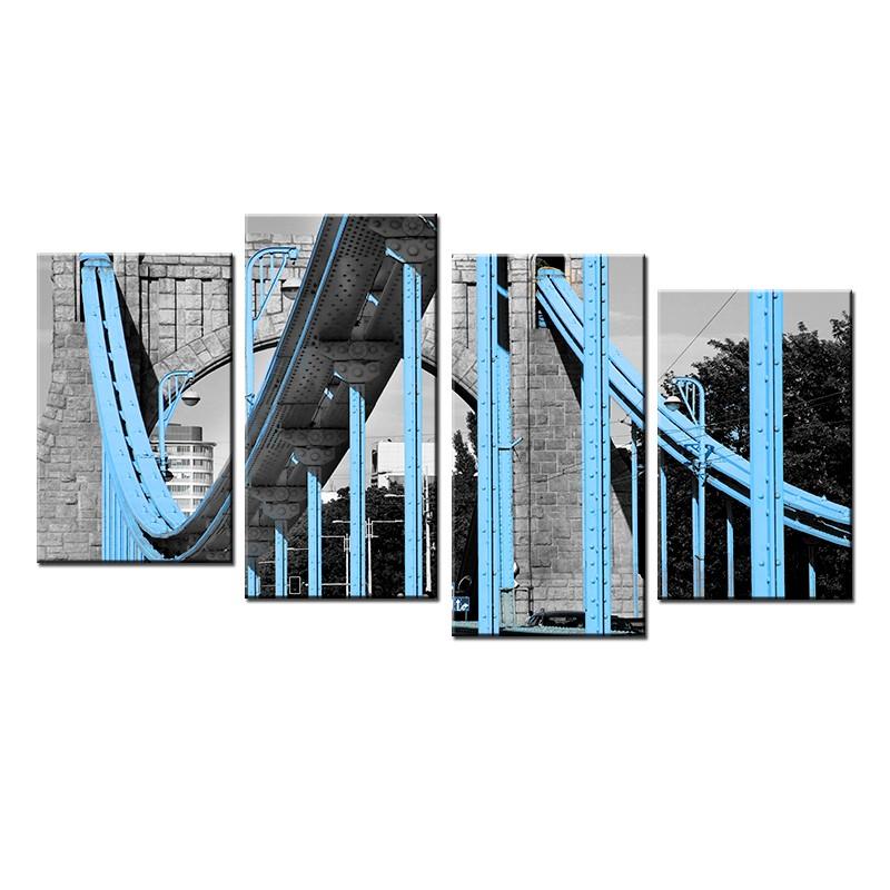 Obraz w stylu nowoczesnym przęsła mostu