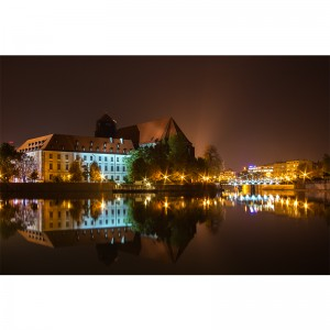 Fototapeta Wrocław Noc