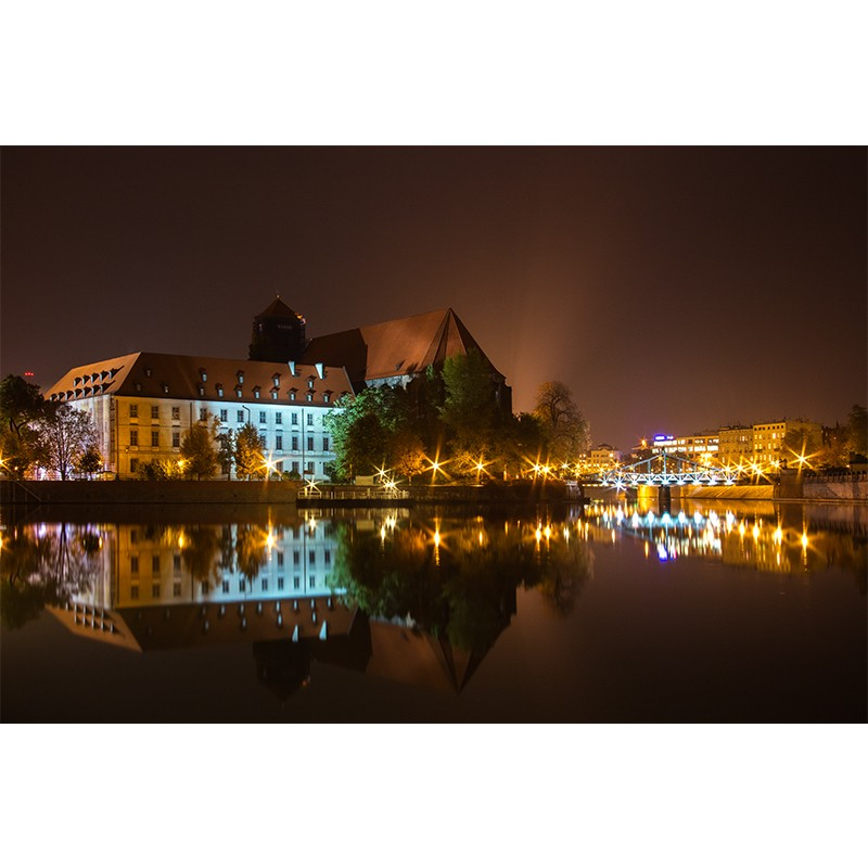 Fototapeta Wrocław Noc   do sypialni