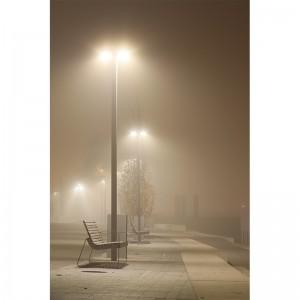 Fototapeta mgła ławeczka do przedpokoju