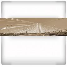 Fototapeta panoramiczna - most Rędziński
