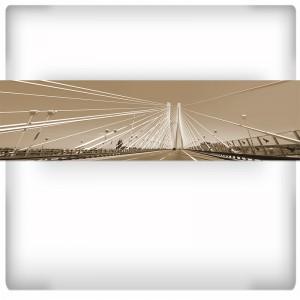Fototapeta panoramiczna Most Rędziński