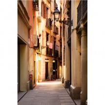 Fototapeta stara uliczka w Barcelonie