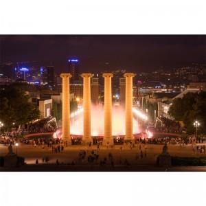 Fototapeta fontanny Barcelona