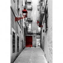 Fototapeta stara uliczka