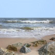 Fototapeta kamienie na plaży