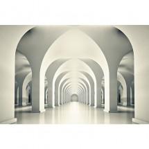 Fototapeta trójwymiarowa z kolumnami