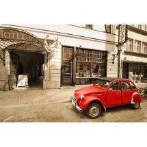 Fototapeta stary samochód