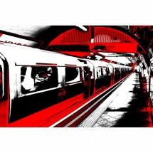 Fototapeta metro