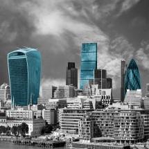 Fototapeta panorama Londynu