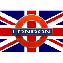 Fototapeta flaga Anglii