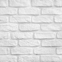 Fototapeta biała cegła