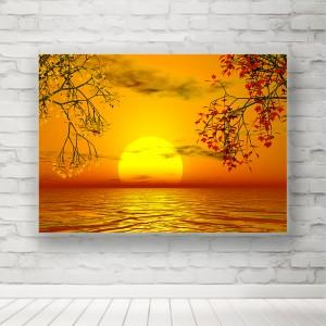 Plakat Zachód Słońca