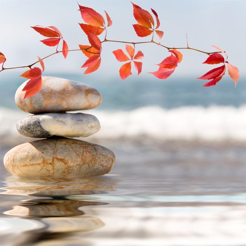 Fototapeta kamienie nad morzem