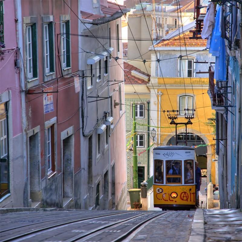 Fototapeta tramwaj