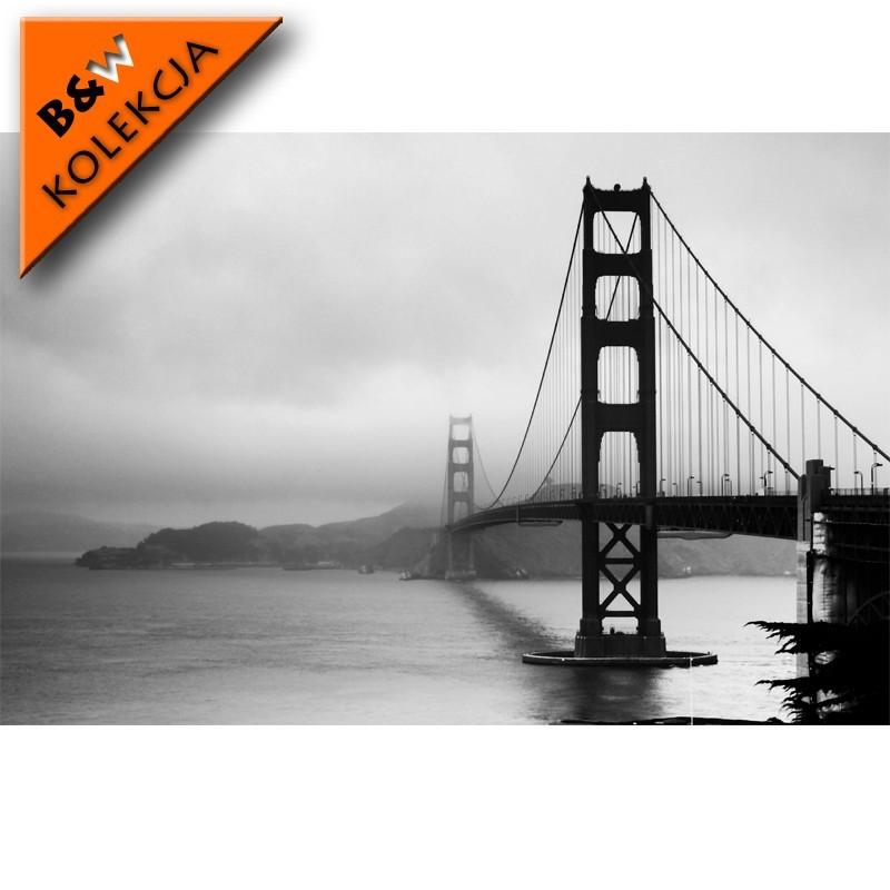 Fototapeta zamglony Golden Gate