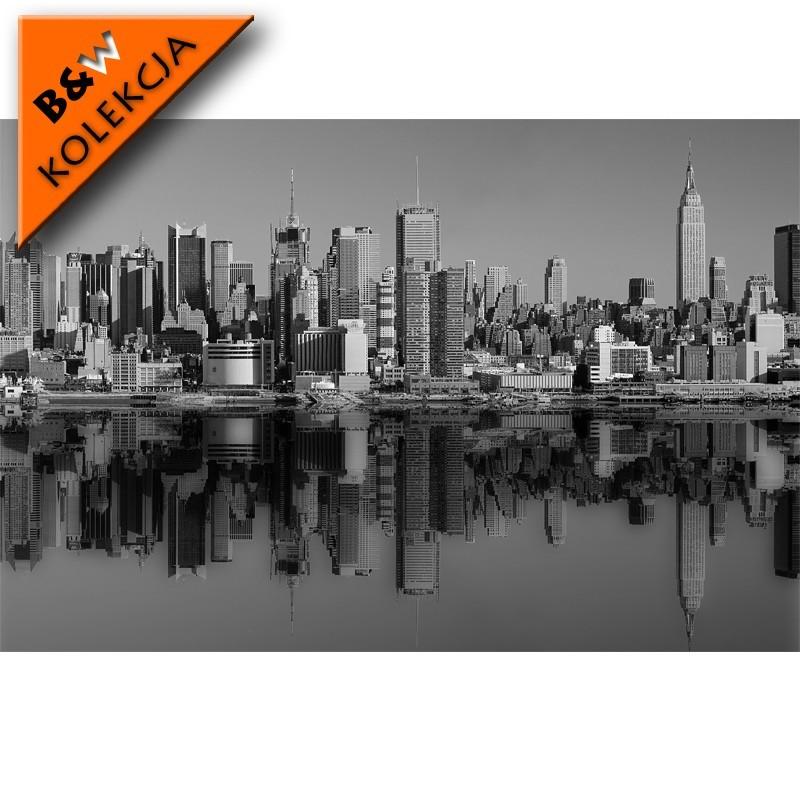 Fototapeta New York - czarno biała