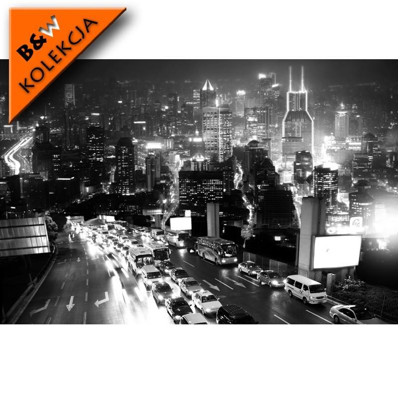 Fototapeta noc na autostradzie