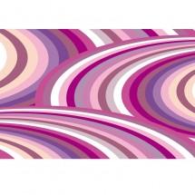 Fototapeta abstrakcja - kolorowe fale