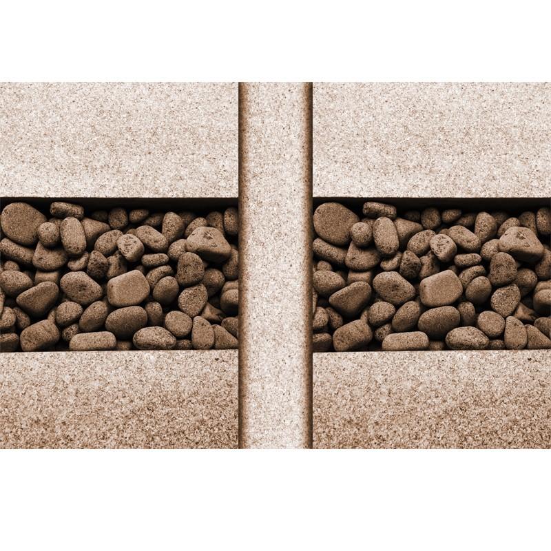 Kamienie z granitem - fototapeta na ścianę