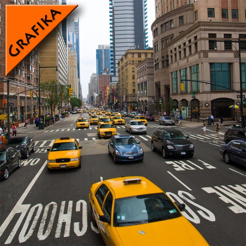 Fototapeta ulica New York