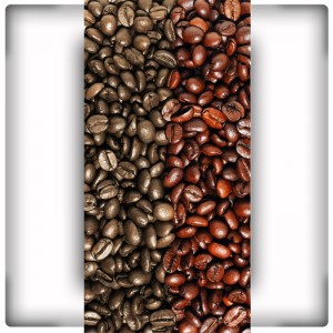 Kawowy wzór