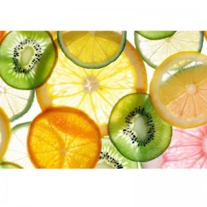 Fototapeta owoce plasterki