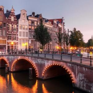 Fototapeta most Holandia