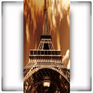 Fototapeta wieża Eiffla sepia