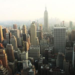 Wieżowce NY