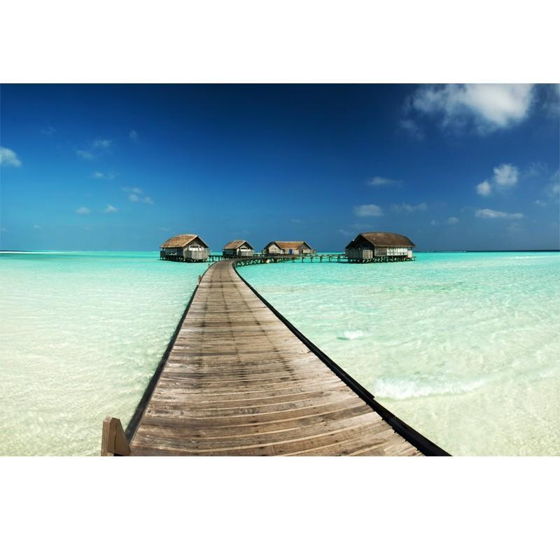 Fototapeta z widokiem na morze