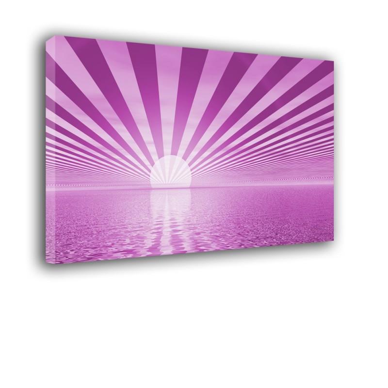 Ozdoba ściany w formie obrazu - słońce - Abstrakcja nr 2087