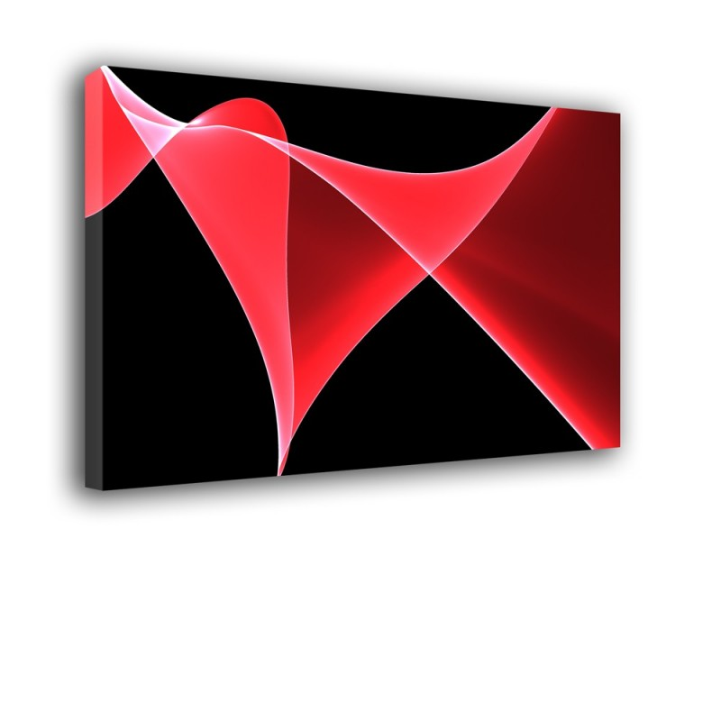 Ozdoba ściany w formie obrazu - sinusoida - Abstrakcja nr 2090
