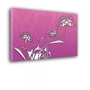 Obraz różowe dmuchawce nr 2183