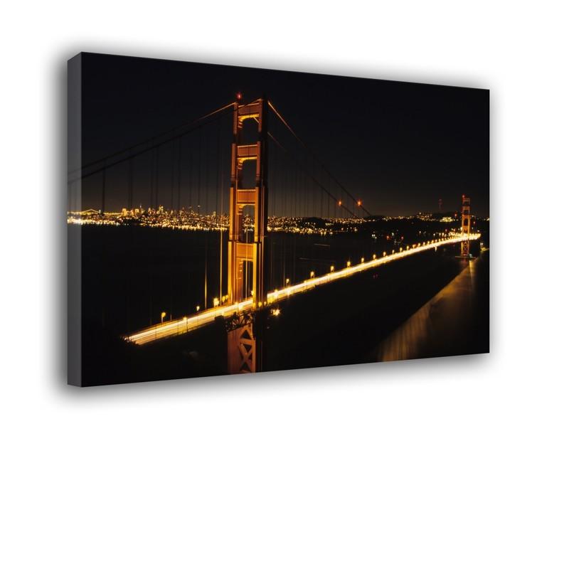 Obraz most Golden Gate w nocy nr 2216
