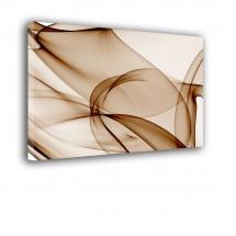 Obraz abstrakcja - brązowe linie