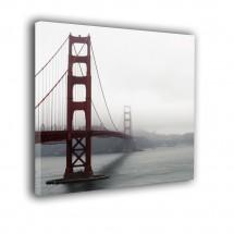 Obraz kwadratowy Golden Gate nr 2243